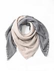 Daddy´s Daughters - Vierkante sjaal van 100% kasjmier