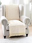 Peter Hahn - Foulard voor fauteuil en 1-persoonsbed, ca. 140x21