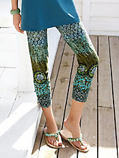 Green Cotton - 7/8-comfortbroek