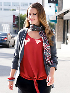 Anna Aura - Blouseshirt van 100% zijde