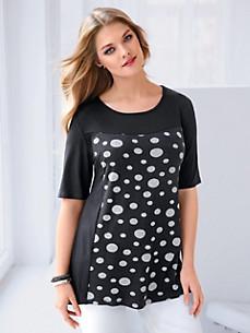 Anna Aura - Shirt met ronde hals en korte mouwen