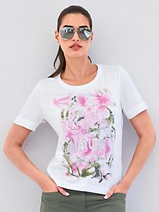 Canyon - Shirt met ronde hals en kwartlange mouwen