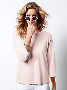 DAY.LIKE - Pullover met ronde hals en 3/4-mouwen