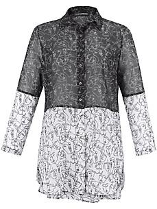 Doris Streich - Lange blouse in patchstijl