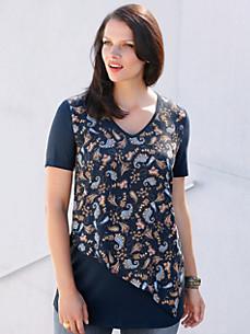 Emilia Lay - 2-in-1-shirt met korte mouwen