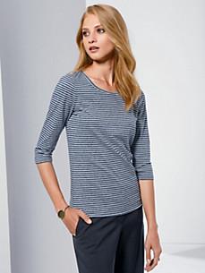 Fadenmeister Berlin - Shirt met ronde hals en 3/4-mouwen