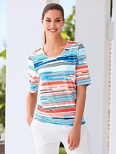 Joy - Shirt met ronde hals en korte mouwen