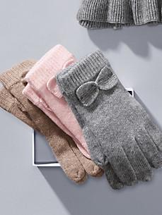 Peter Hahn Cashmere - Gebreide handschoenen
