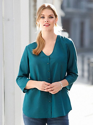 Anna Aura - Blouse met V-hals