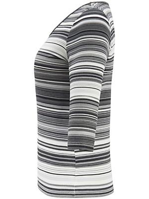 Anna Aura - Shirt met ronde hals en driekwartmouwen