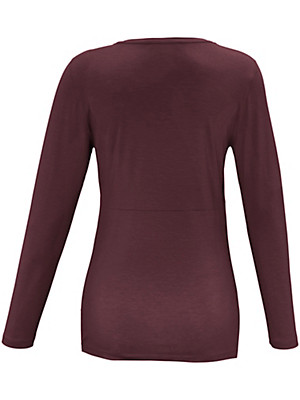 Emilia Lay - Shirt met diepe V-hals