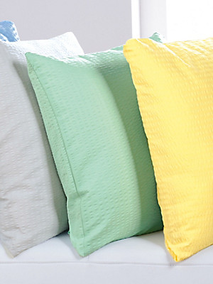 Janine - Soft-seersucker-overtrekset, ca. 135x200cm