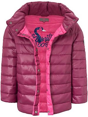 LIEBLINGSSTÜCK - Gewatteerde jas in A-lijn, met 3/4-raglanmouwen