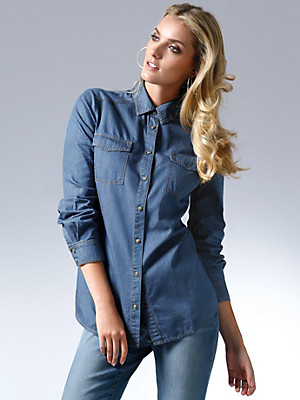 Looxent - Jeansblouse
