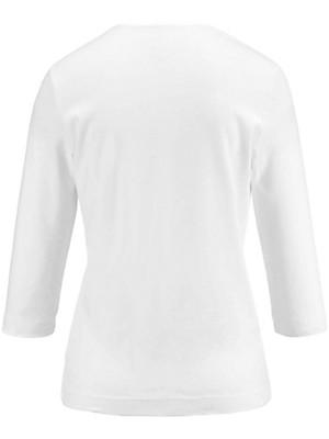 Münchner Manufaktur - Shirt met ronde hals en 3/4-mouwen