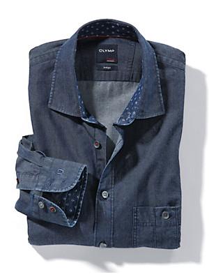Olymp - Jeansoverhemd