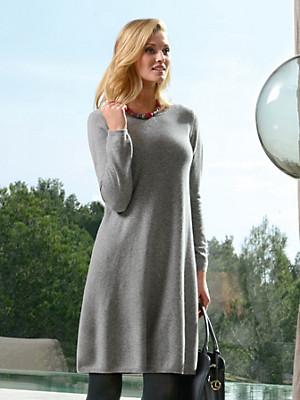 Peter Hahn Cashmere - Gebreide jurk van 100% kasjmier