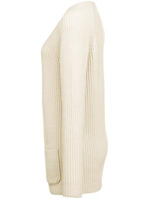 Peter Hahn Cashmere Gold - Cardigan met lange mouwen van 100% kasjmier