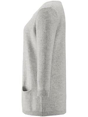 Peter Hahn Cashmere - Pullover met ronde hals van 100% kasjmier
