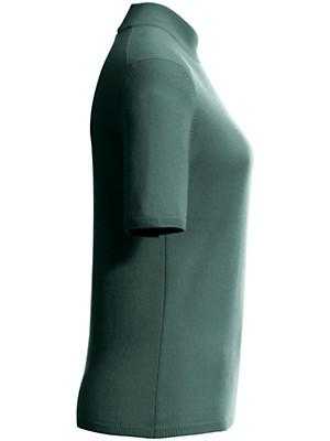 Peter Hahn Cashmere - Trui met staande kraag van 100% kasjmier