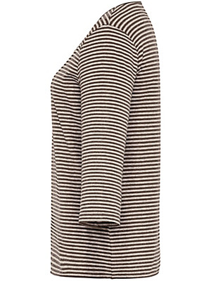 Peter Hahn - Gestreept shirt met 3/4-mouwen