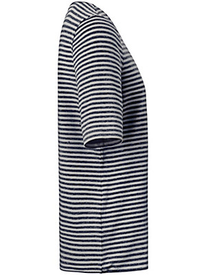 Peter Hahn - Gestreept shirt met korte mouwen