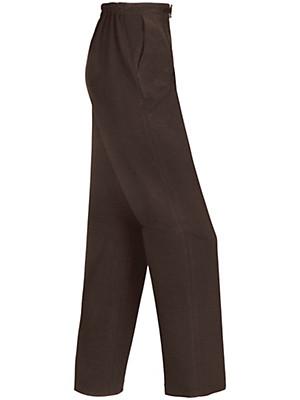 Peter Hahn - Jersey-comfortbroek van 100% scheerwol