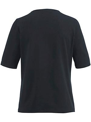 Peter Hahn - Shirt met ronde hals en korte mouwen