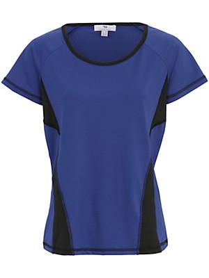 Peter Hahn - Shirt met ronde hals en kwartlange mouwen