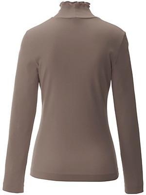 Peter Hahn - Shirt met staand halsboordje