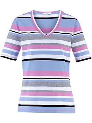 Peter Hahn - T-shirt met V-hals
