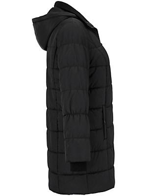 Samoon - Doorgestikte mantel met capuchon