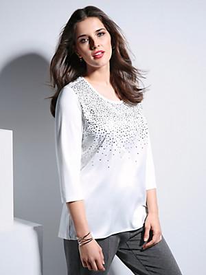 Samoon - Shirt met ronde hals
