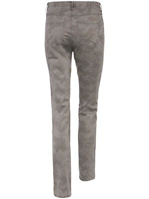 Toni - Jeans met camouflageprint