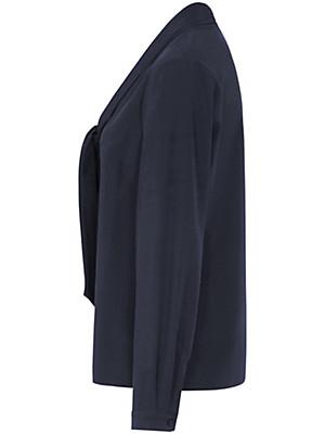Uta Raasch - Blouse van 100% zijde, met afgeronde V-hals