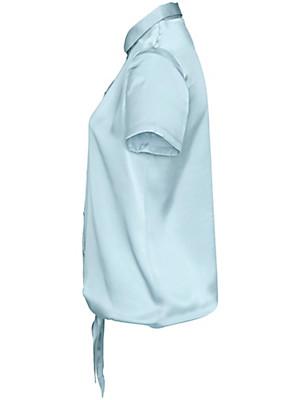 Uta Raasch - Blouse van 100% zijde, met korte mouwen
