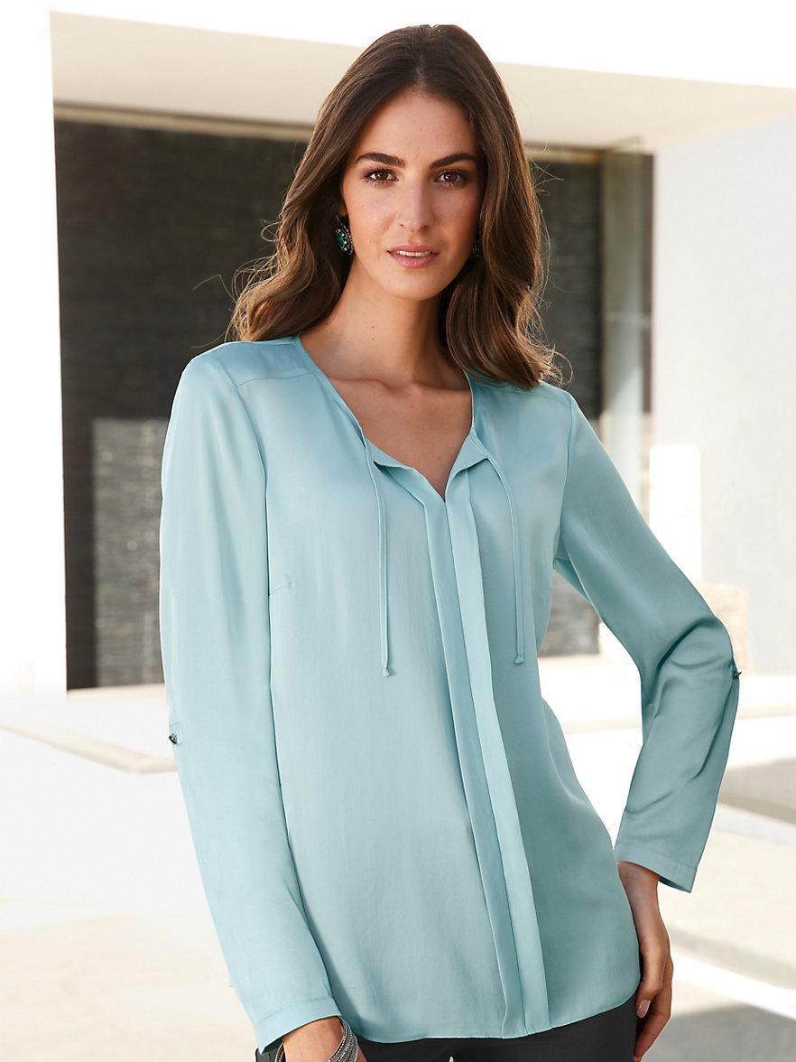 gerry weber blouse aqua. Black Bedroom Furniture Sets. Home Design Ideas