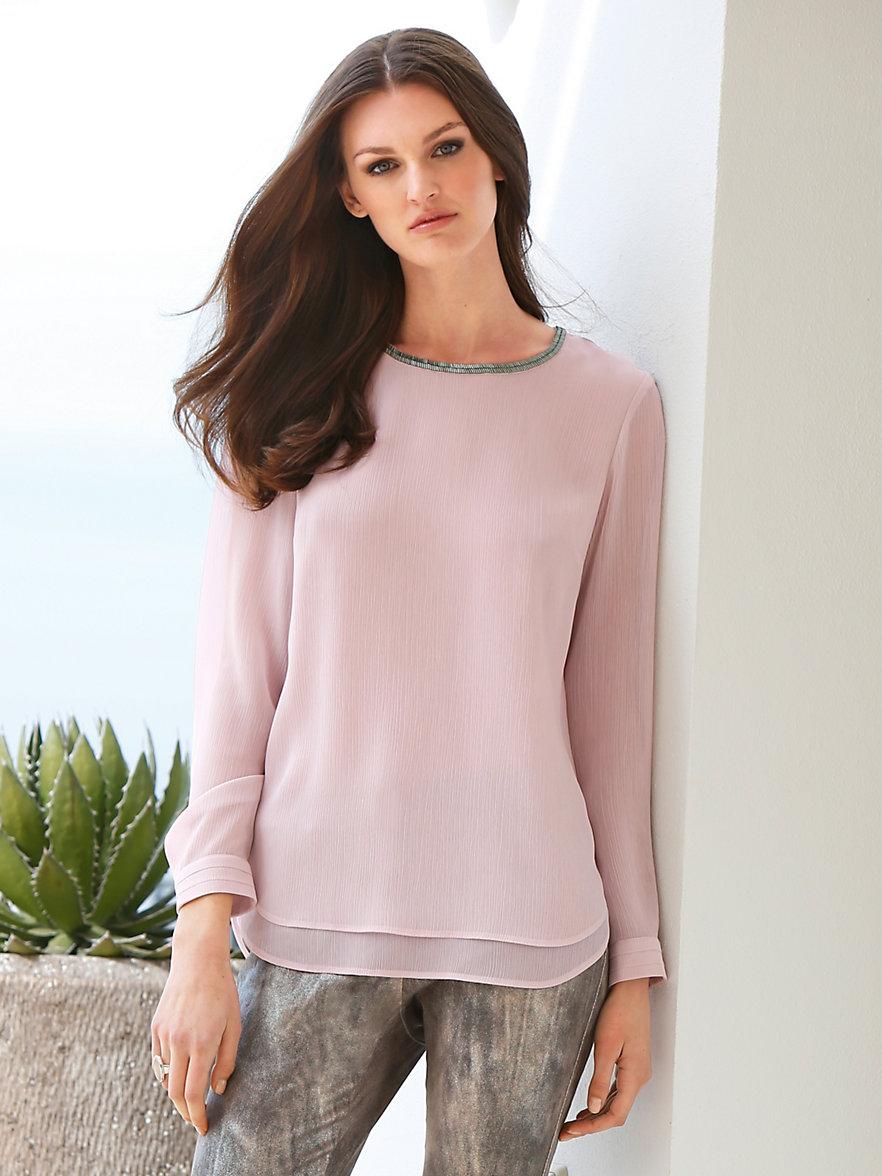 gerry weber blouse roze. Black Bedroom Furniture Sets. Home Design Ideas