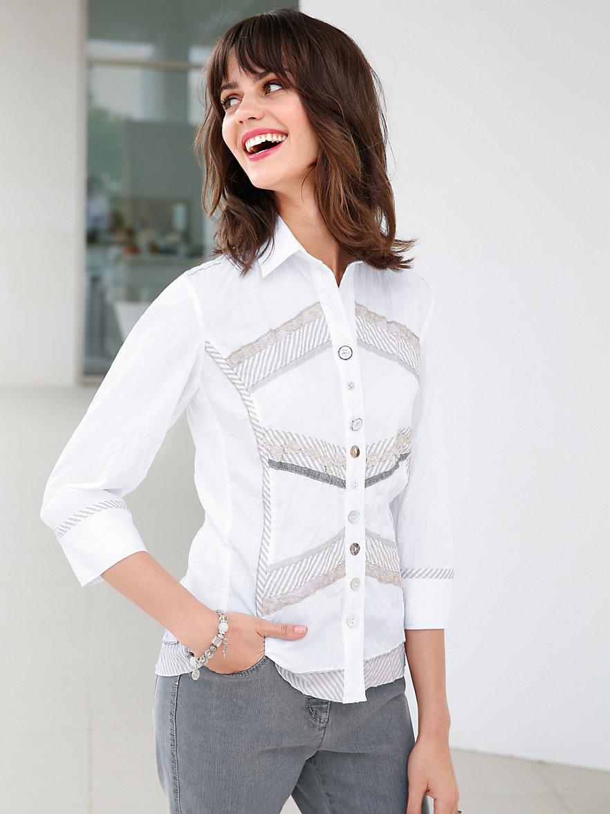 just white blouse wit beige. Black Bedroom Furniture Sets. Home Design Ideas