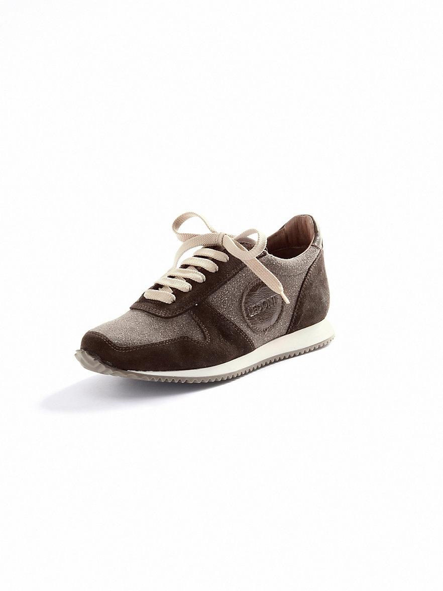 Ledoni sneakers chocobruin taupe - Bruin taupe ...