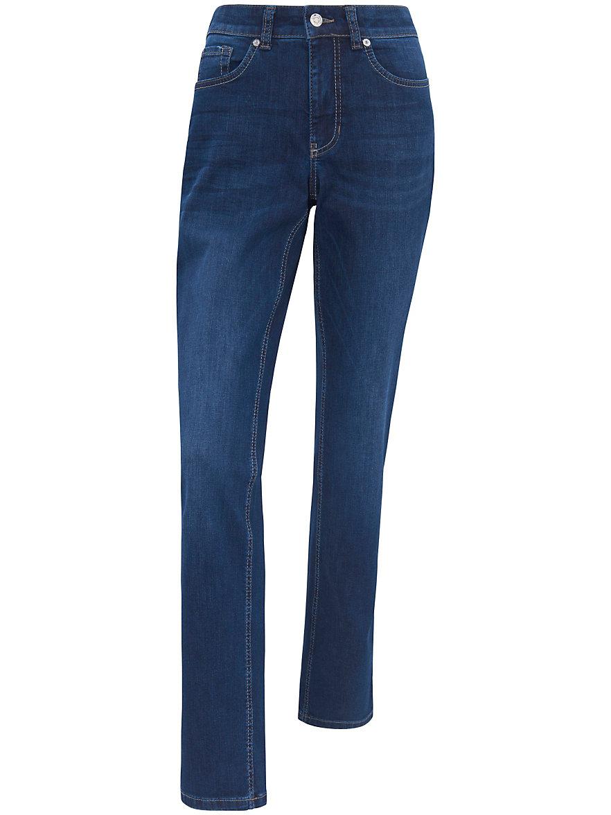mac jeans melanie met smalle taille inchlengte 30 blue denim. Black Bedroom Furniture Sets. Home Design Ideas