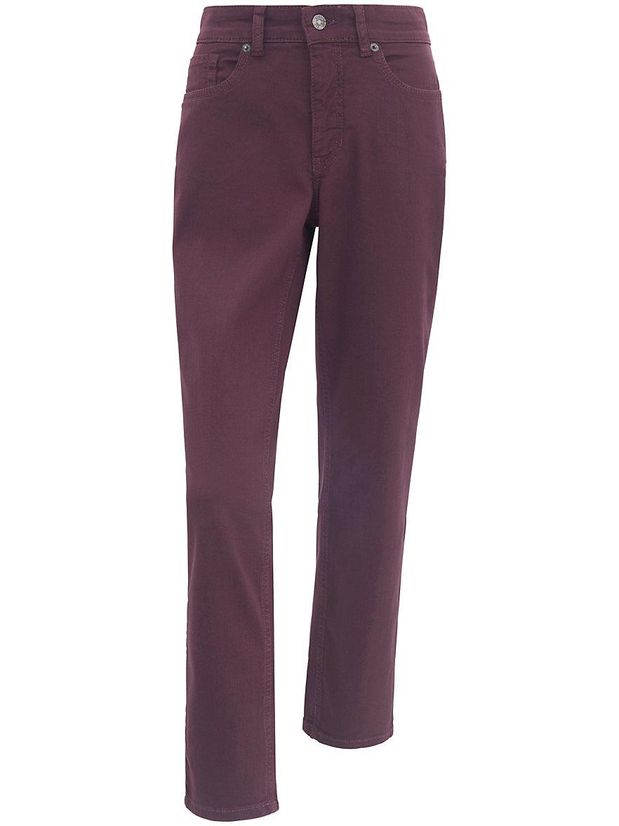 mac jeans melanie met smalle taille inchlengte 30 bordeaux denim. Black Bedroom Furniture Sets. Home Design Ideas