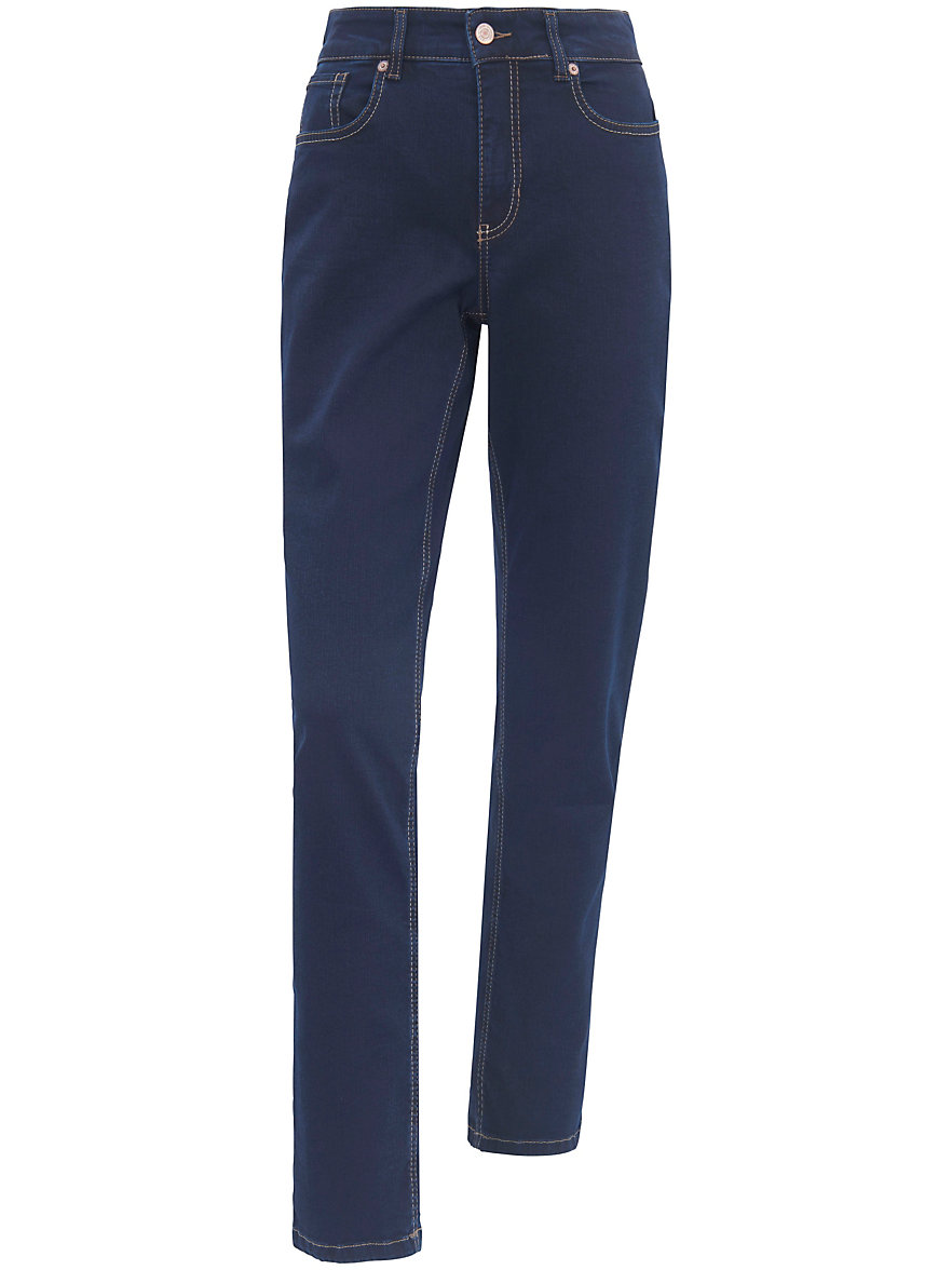 mac jeans melanie met smalle taille inchlengte 32 dark blue denim. Black Bedroom Furniture Sets. Home Design Ideas