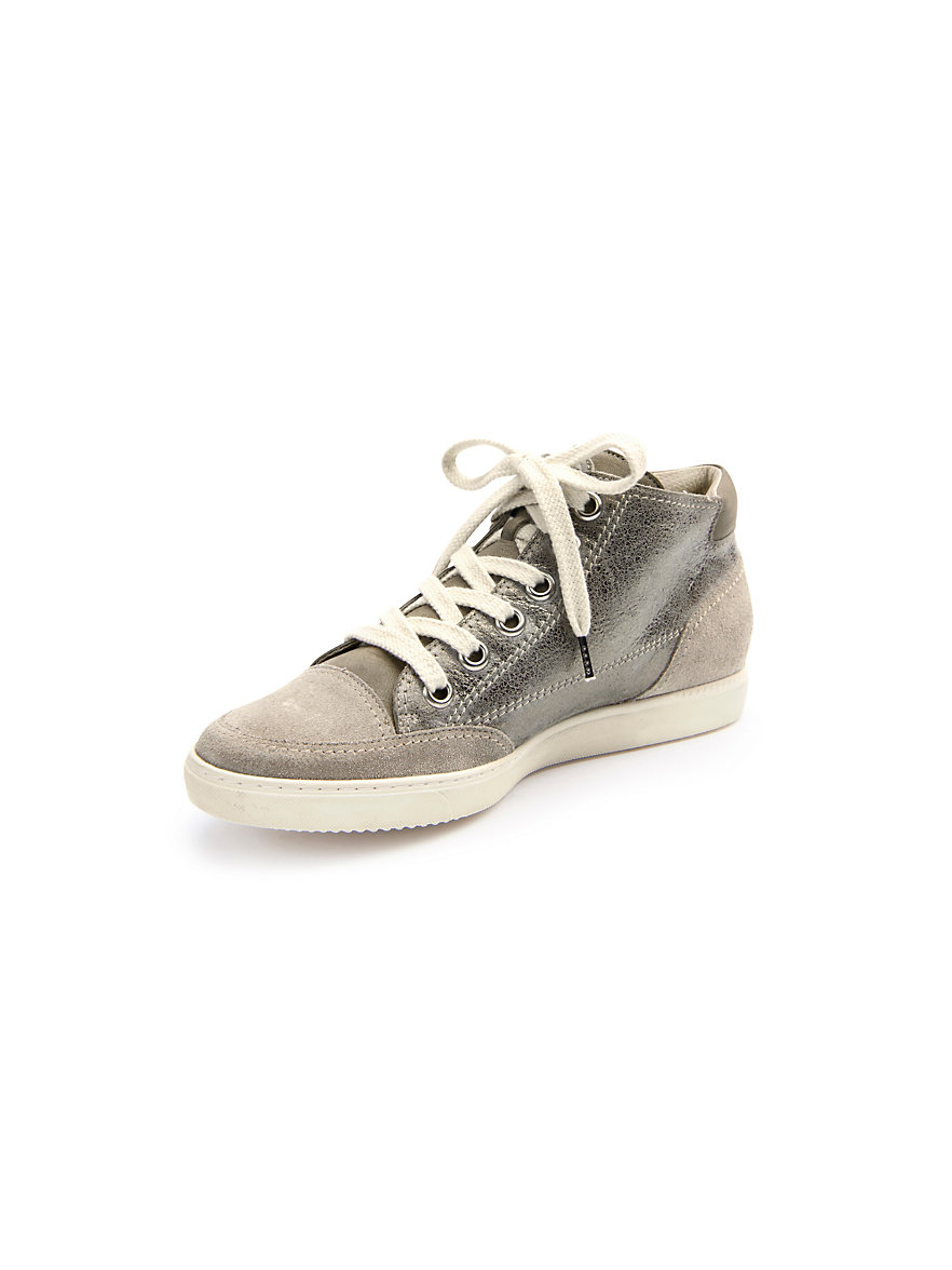 paul green sneakers zand taupe metallic. Black Bedroom Furniture Sets. Home Design Ideas