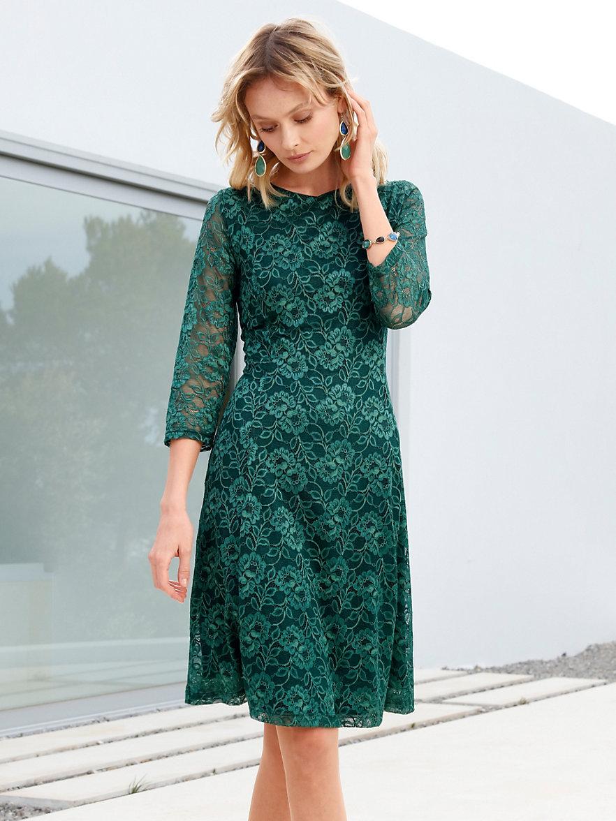 peter hahn jurk smaragdgroen. Black Bedroom Furniture Sets. Home Design Ideas