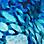 blauw/turquoise/wit