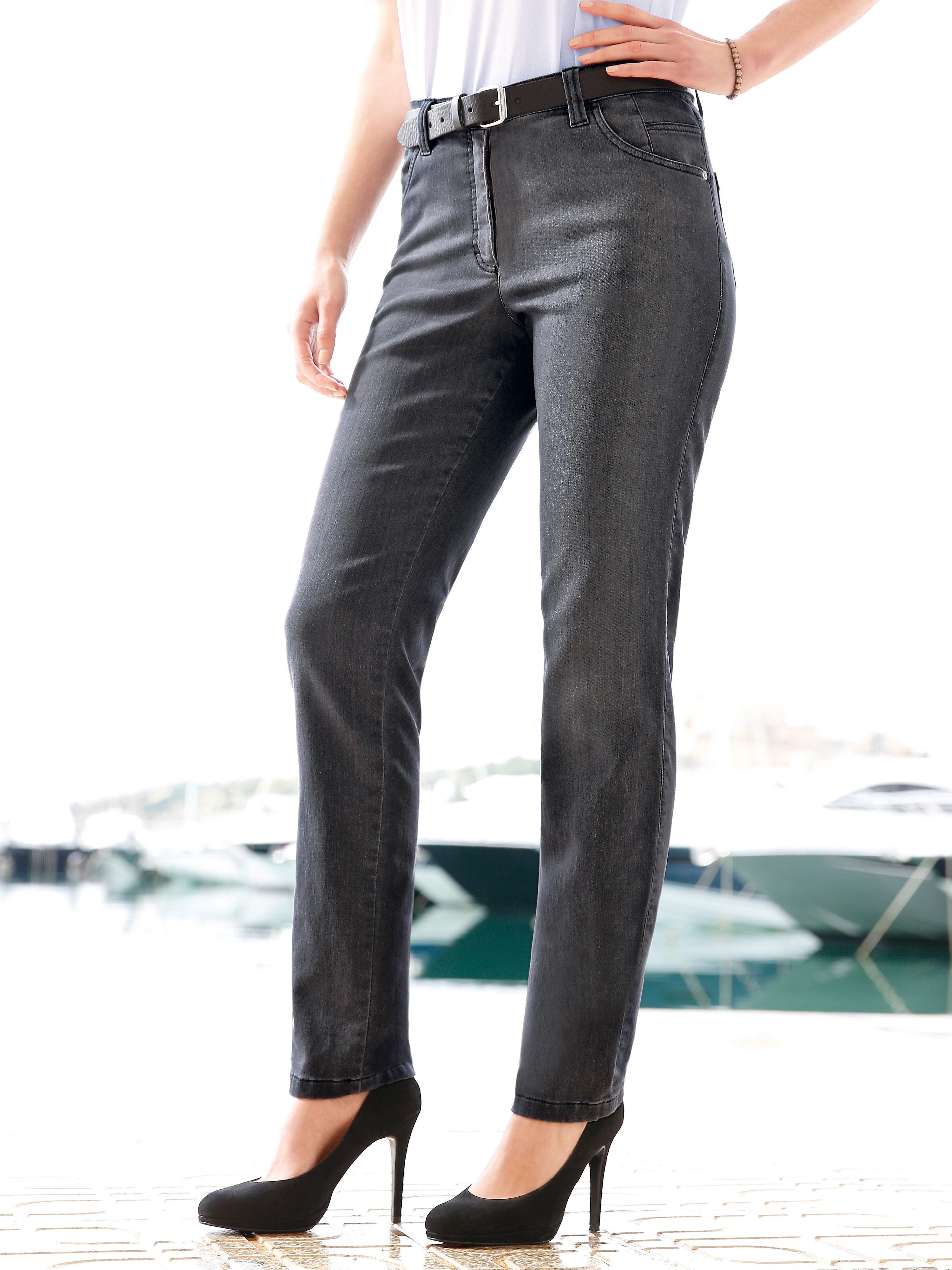 Enkellange jerseyjeans van kjbrand: supercomfortabel, zeer modieus. de jeans innovatie van kjbrand: zachte, ...