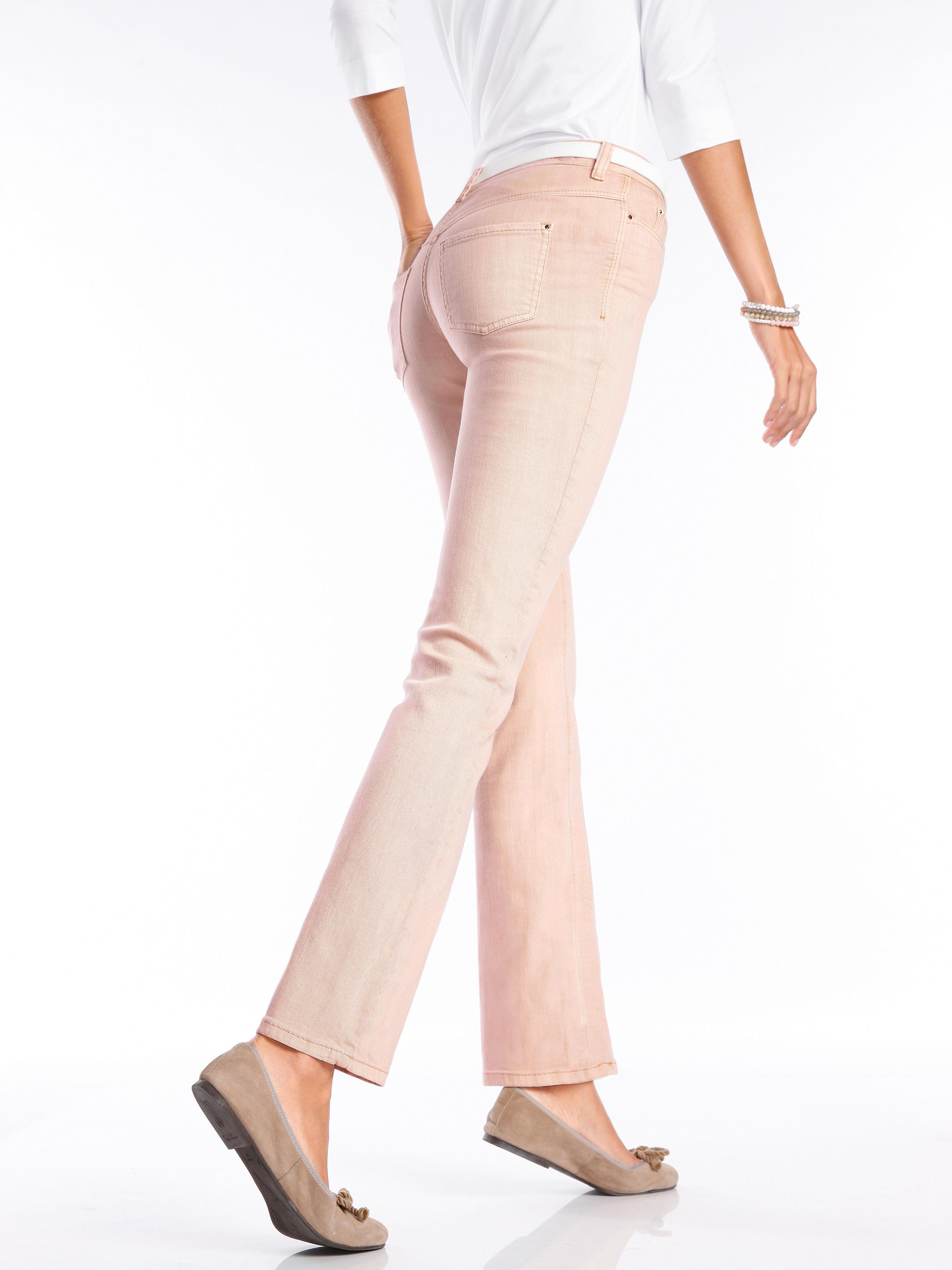 Jeans, inchlengten 30 en 32 Van Mac oranje