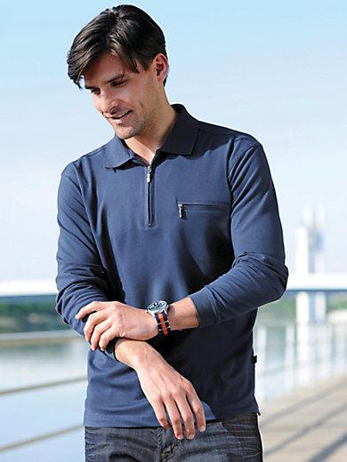 HAJO - Poloshirt met lange mouwen