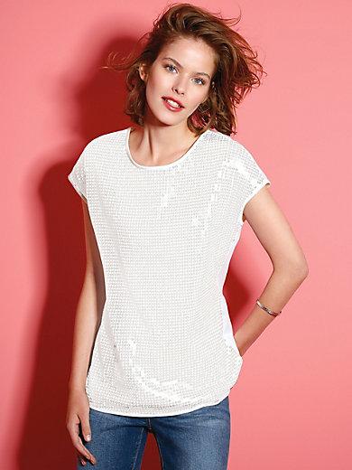 Looxent - Shirt met ronde hals en verbrede schouders